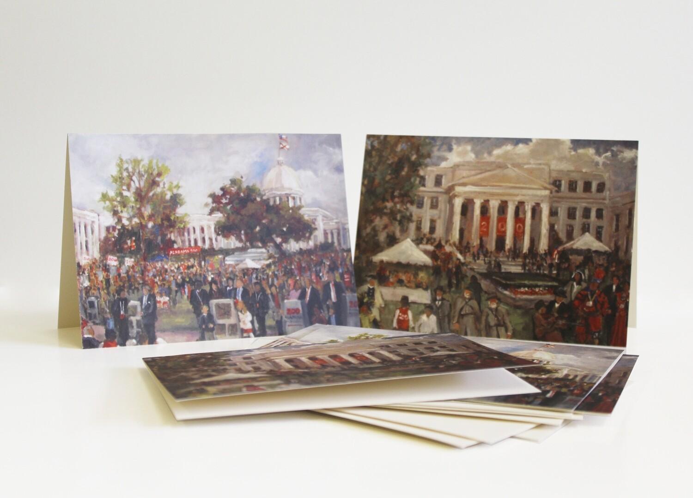 Barbara Davis Bicentennial Notecards