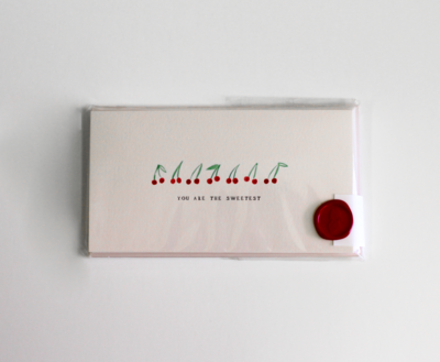 Cherry Thank You Cards