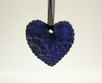 Lindsey Kelly Heart Ornament
