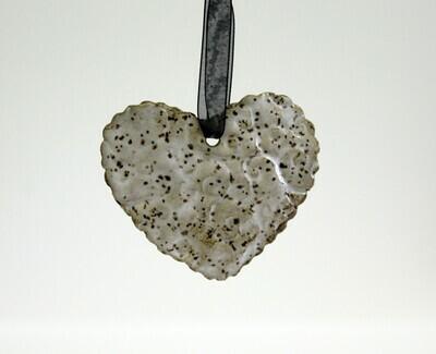 Lindsey Kelly Heart Ornament