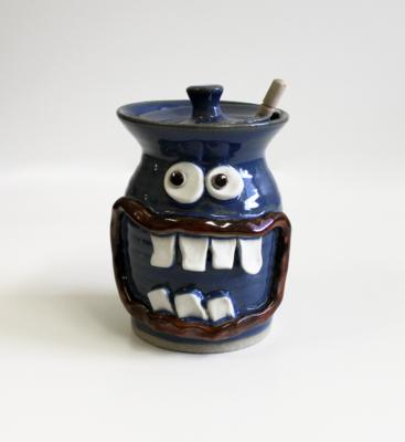Nelson Studio Pottery Honey Jar