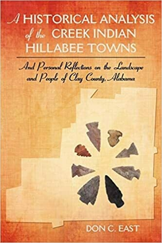 A Historical Analysis of the Creek Indian Hillabee Towns: And Personal Reflections on the Landscape and People of Clay County