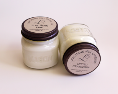 Lightning Hill Candles - Winter Scents