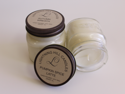 Lightning Hill Candles - Autumn Scents