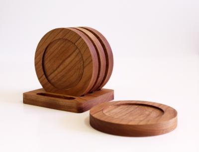 Distinct Woodworks Coasters - Set of 4