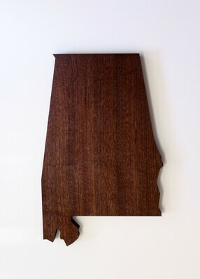 Distinct Woodworks Alabama Cutting Board