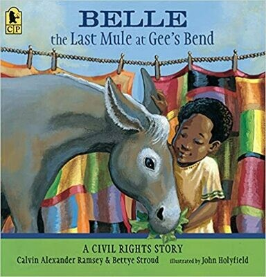 Belle the Last Mule at Gee's Bend