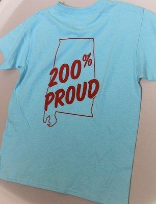 Youth 200% Proud TShirt