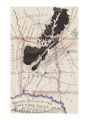 1872 Coal and Iron Deposits of Alabama