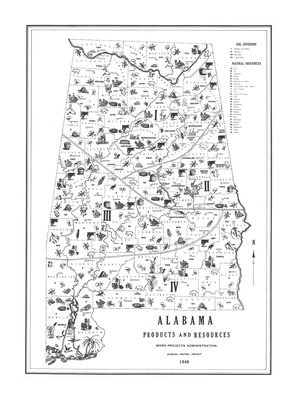 1940 Products and Resources of Alabama