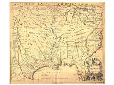 1721 Louisiana Territory