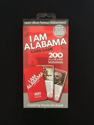 I Am Alabama Card Game