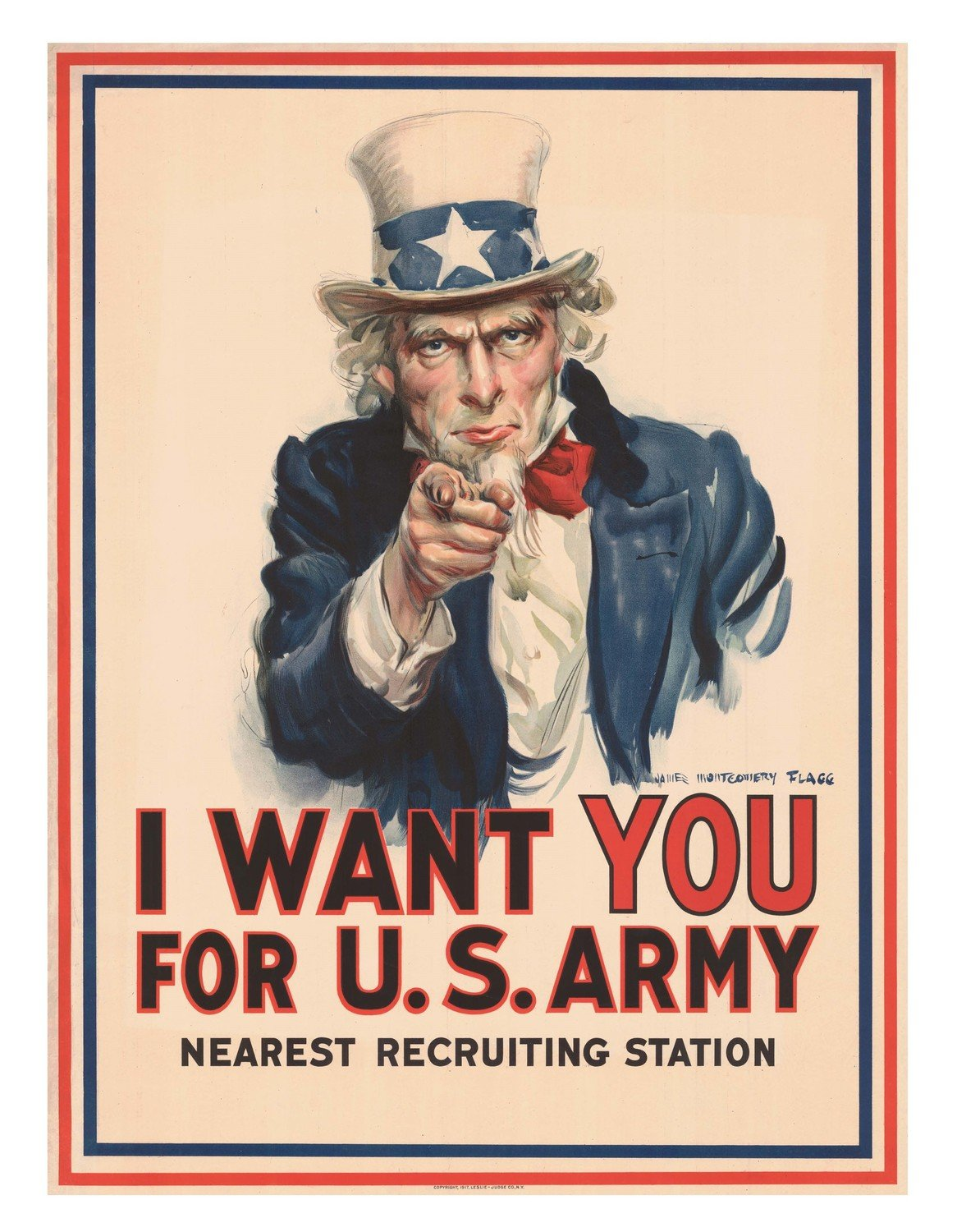 Uncle Sam WWI Poster