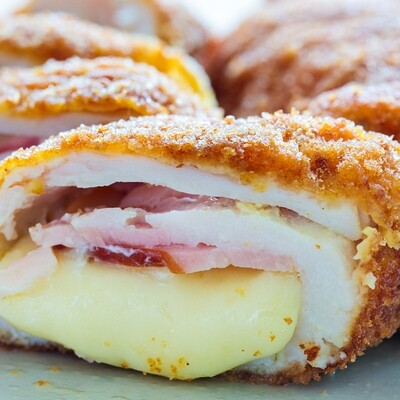Mini Chicken Cordon Bleu