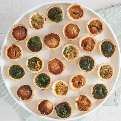 Assorted Mini Quiche
