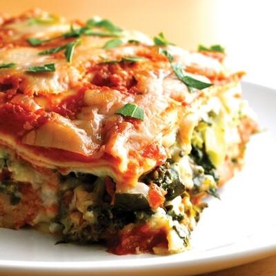 Spinach & Portabella Lasagna