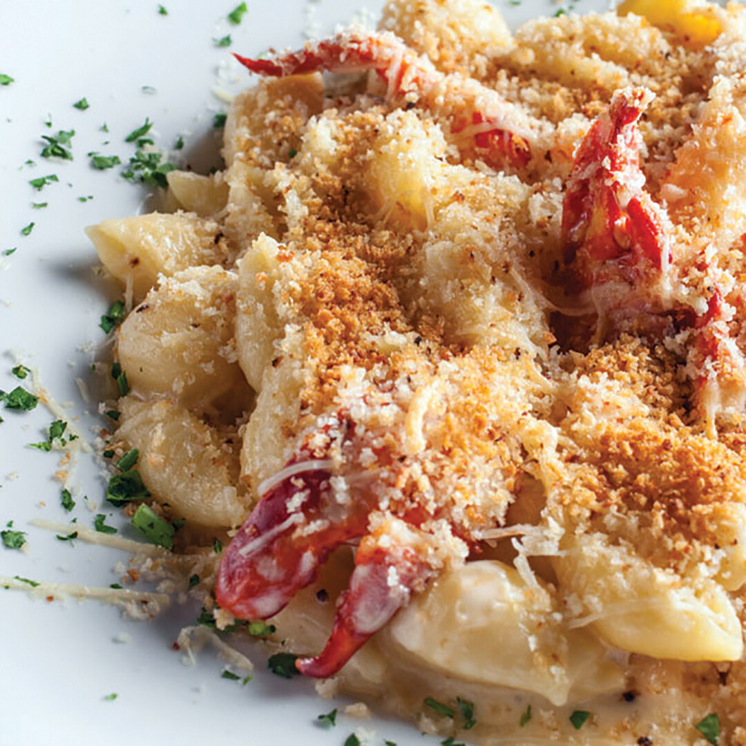 Lobster and Shrimp Macaroni & Cheese