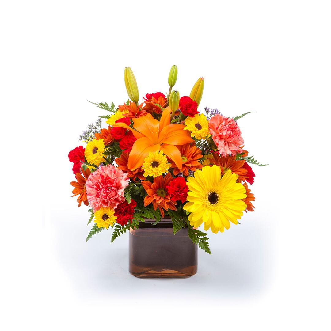 Warm Autumn Day Bouquet