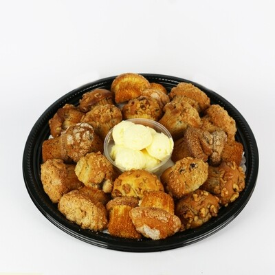 Muffin Tray with Whipped Butter