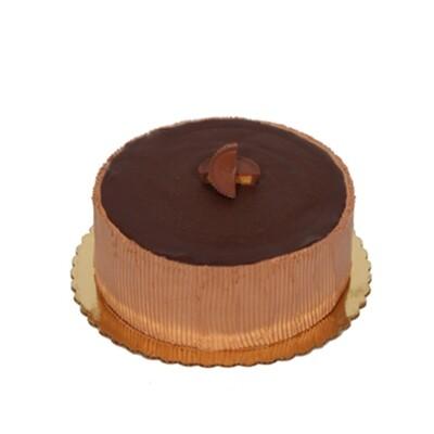 Chocolate Peanut Butter Mousse Cake