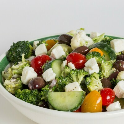 Greek Vegetable Salad (per lb)