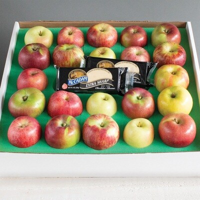 Apples and Cheddar Cheese