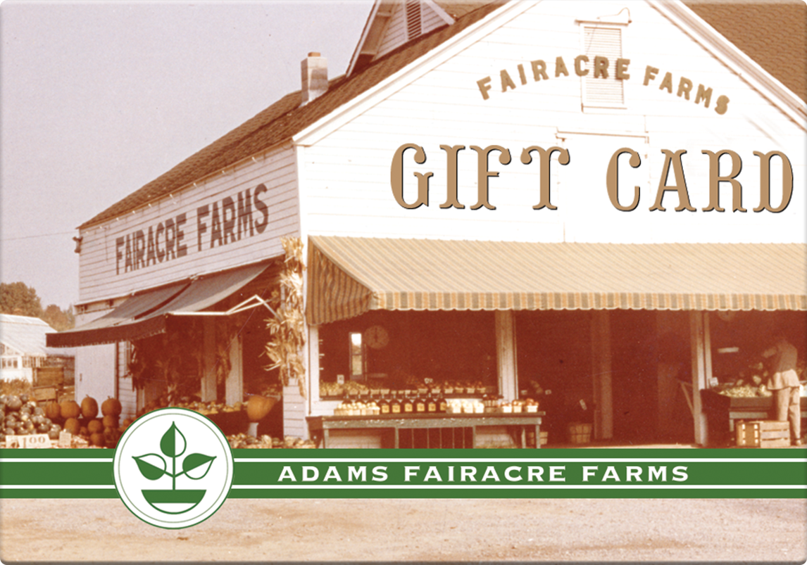 Adams Gift Card (Farm Stand)