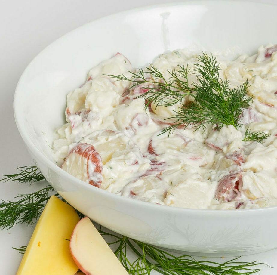 Red Skin Potato Salad with Dill (per lb)