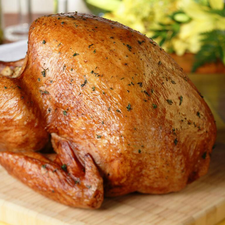 Oven Roasted Whole Turkey