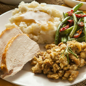 Complete Holiday Turkey Dinner for 4 people