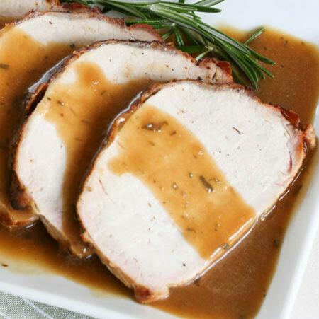 Roasted Loin of Pork