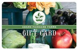 Adams Gift Card (Still Life)