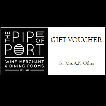 Pipe of Port Gift Voucher