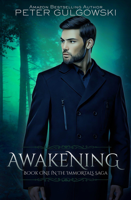 Awakening [Book One of the Immortals Saga] (2018) SIGNED