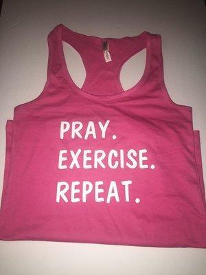 Pray. Exercise. Repeat.