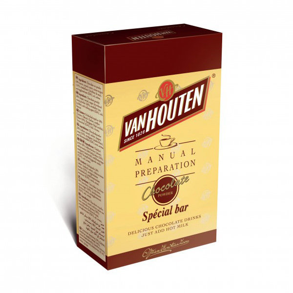 Van Houten Special Bar Hot Chocolate (10 X 1Kg Add Milk)