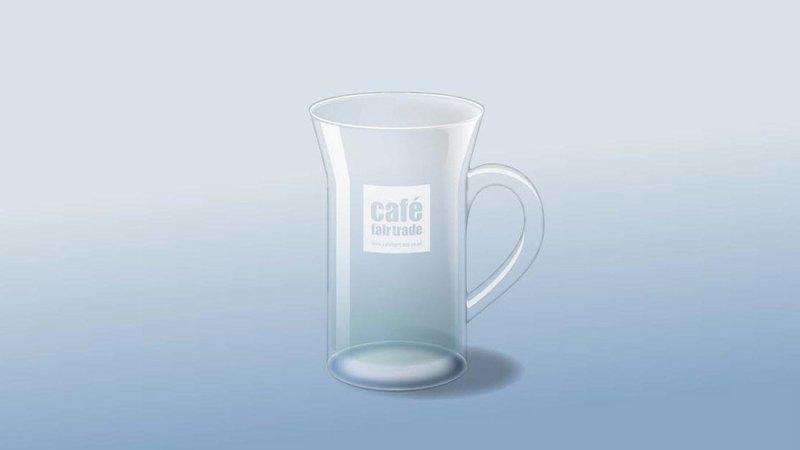Latte Glasses Squat 8.5oz (For Bean To Cup Machines)  (case size 12 x 1 ) £2.74 each