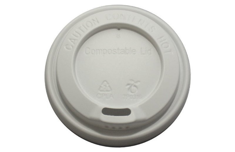 Compostable Lids 12 oz cup (1 X 1000)