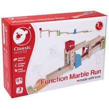 FUNCTION MARBLE RUN in legno - Classic World