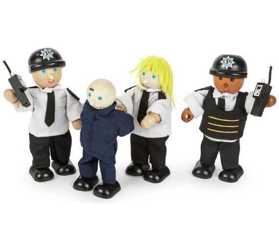 POLICE OFFICERS & PRISONER