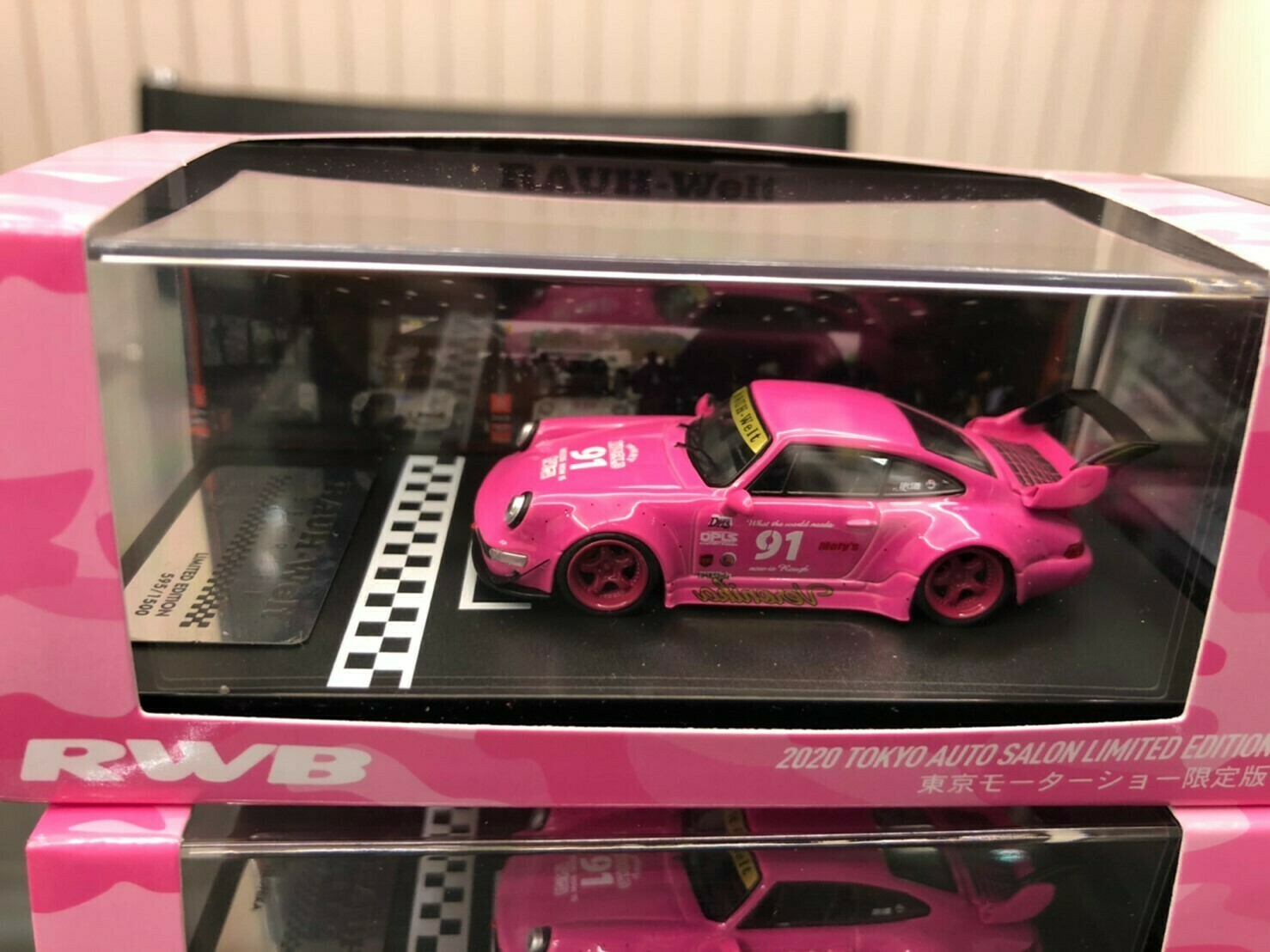 Rwb 1 64 Model Car Idlers Pink 2020 Tokyo Auto Salon Limited Edition