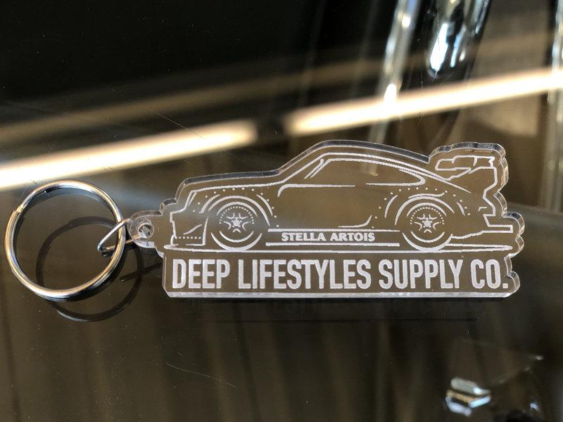 DEEP×RWB Porsche Tag