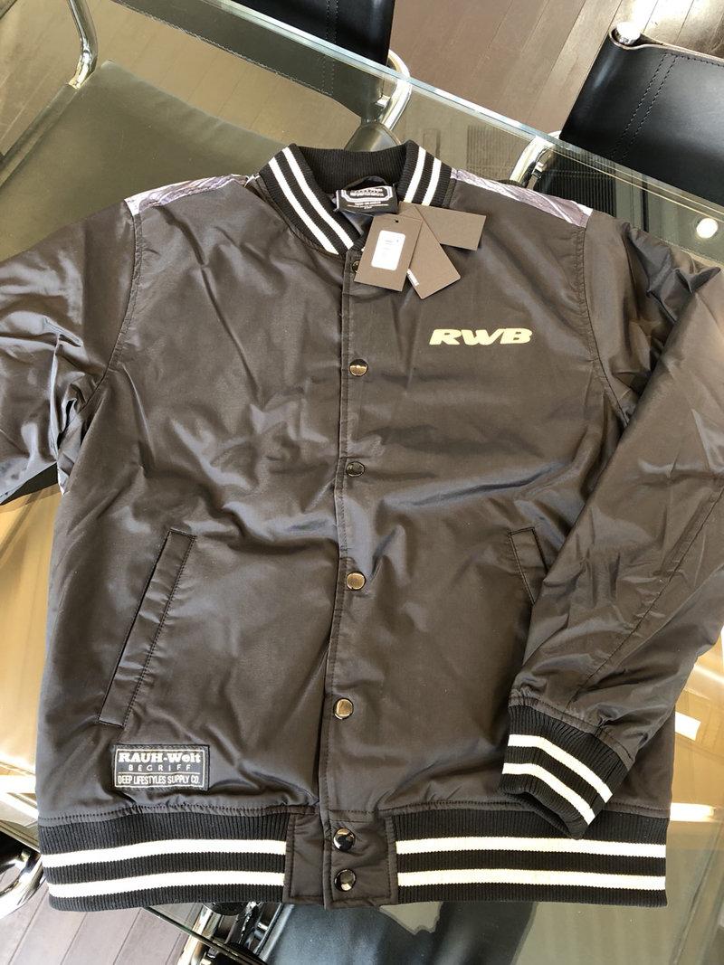 DEEP×RWB Racing Varsity Jacket