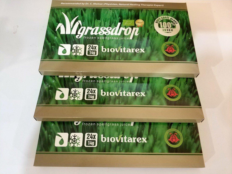 Biovitarex Organic deepfrozen wheatgrass juice for one month