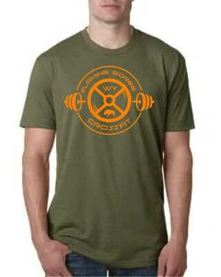 Flaming Gorge Crossfit Green S/S Tee