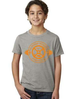 Flaming Gorge Crossfit Youth Grey with Orange Design