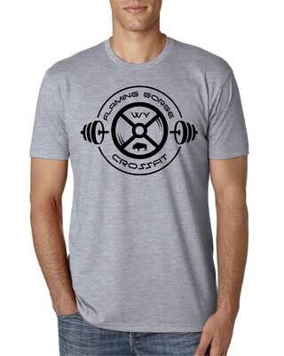 Flaming Gorge Cross Fit Grey S/S Tee