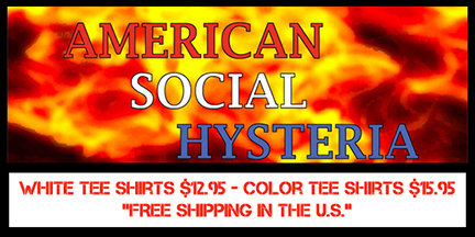 Social Hysteria America Tee Shirts