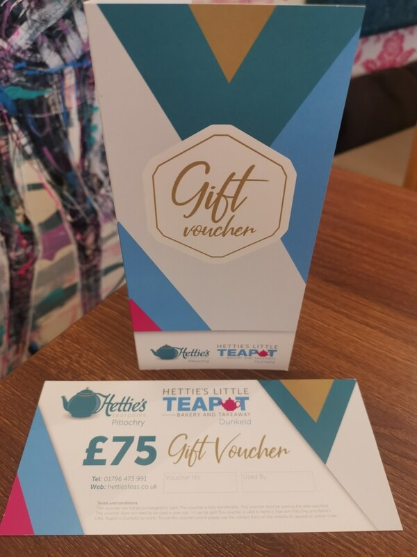 £75.00 Gift Voucher with card