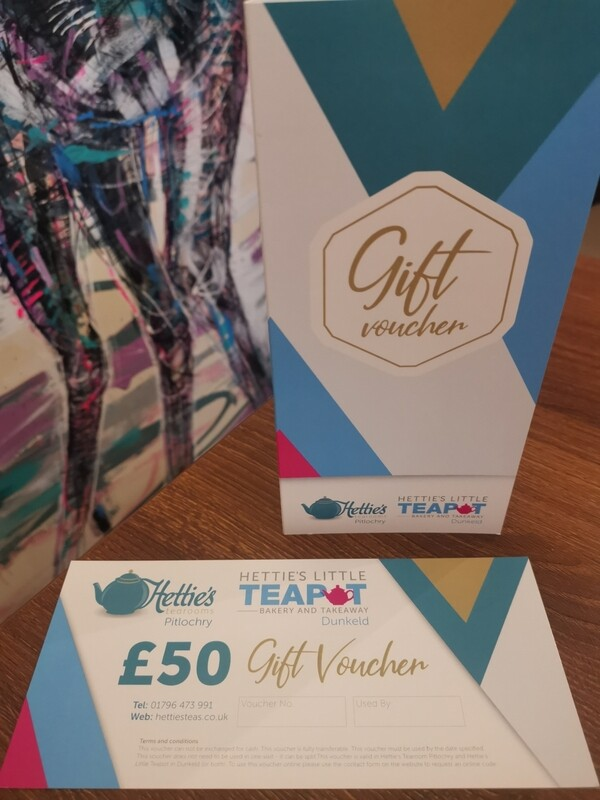 £50.00 Gift Voucher with card